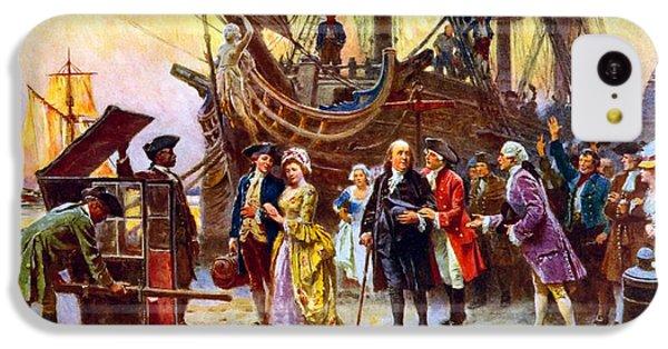 Philadelphia iPhone 5c Case - Ben Franklin Returns To Philadelphia by War Is Hell Store