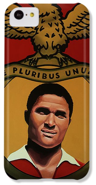 Benfica Lisbon Painting IPhone 5c Case by Paul Meijering