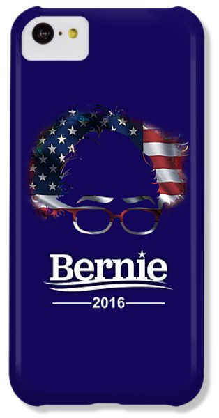 Bernie Sanders 2016 IPhone 5c Case by Marvin Blaine
