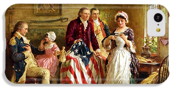 Betsy Ross And General George Washington IPhone 5c Case