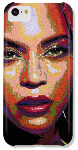 Beyonce IPhone 5c Case by Maria Arango