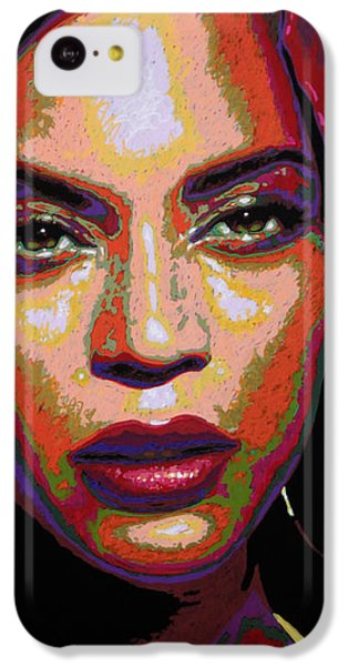 Beyonce IPhone 5c Case by Maria Arango