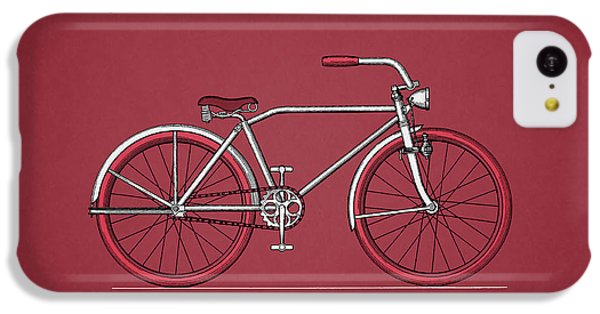 Bicycle iPhone 5c Case - Bicycle 1935 by Mark Rogan