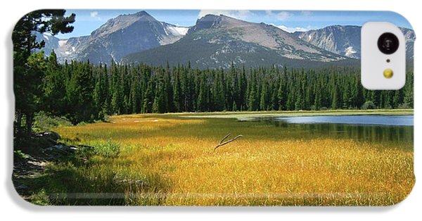 Autumn At Bierstadt Lake IPhone 5c Case by David Chandler