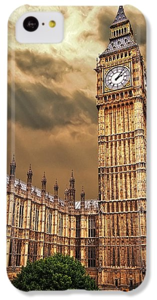 Big Ben's House IPhone 5c Case by Meirion Matthias