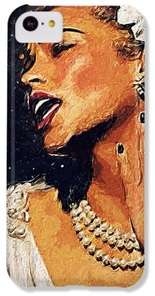 Harlem iPhone 5c Case - Billie Holiday by Zapista