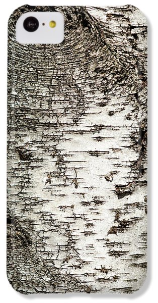 IPhone 5c Case featuring the photograph Birch Tree Bark by Christina Rollo