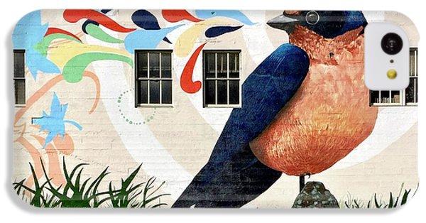 iPhone 5c Case - Bird Mural by Julie Gebhardt