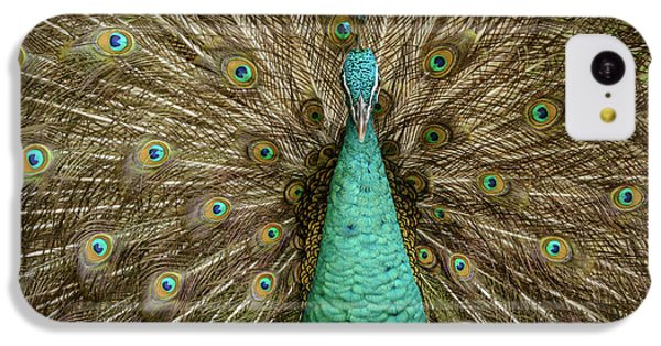 IPhone 5c Case featuring the photograph Peacock by Werner Padarin