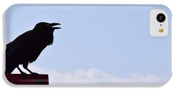 Crow Profile IPhone 5c Case