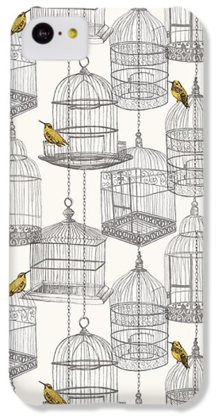 Birdcages IPhone 5c Case by Stephanie Davies