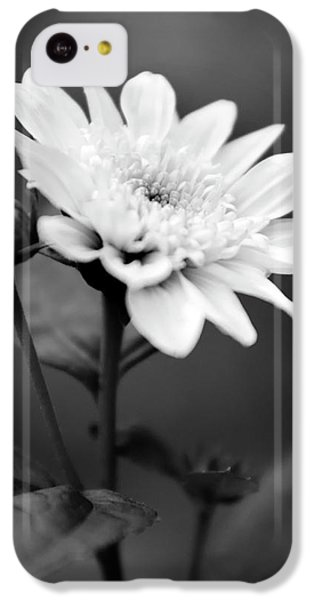 IPhone 5c Case featuring the photograph Black And White Coreopsis Flower by Christina Rollo