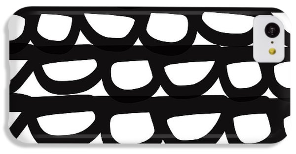 Black And White Pebbles- Art By Linda Woods IPhone 5c Case