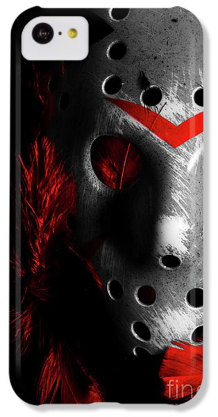Hockey iPhone 5c Case - Black Friday The 13th  by Jorgo Photography - Wall Art Gallery
