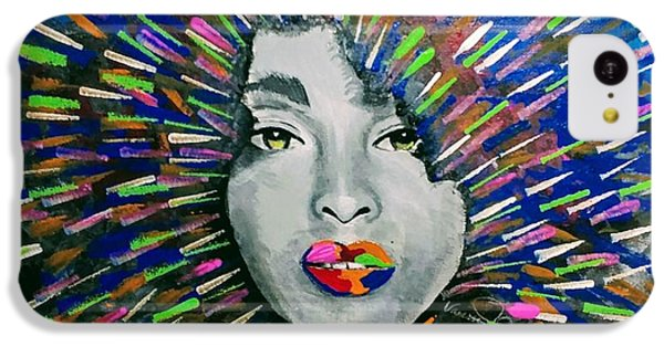 iPhone 5c Case - Black Girl Magic by Vanessa Faith