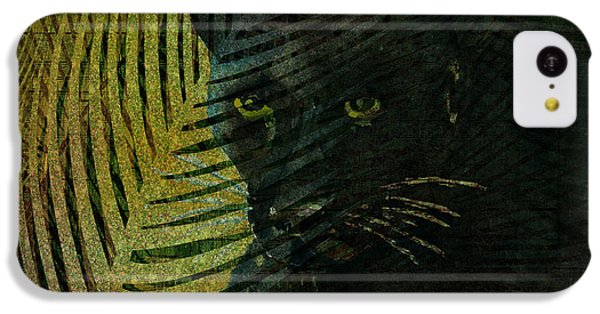 Black Panther IPhone 5c Case by Arline Wagner