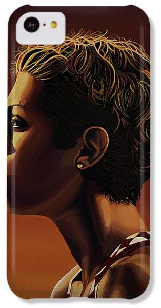 Blanka Vlasic Painting IPhone 5c Case by Paul Meijering