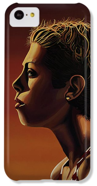 Blanka Vlasic Painting IPhone 5c Case by Paul Meijering