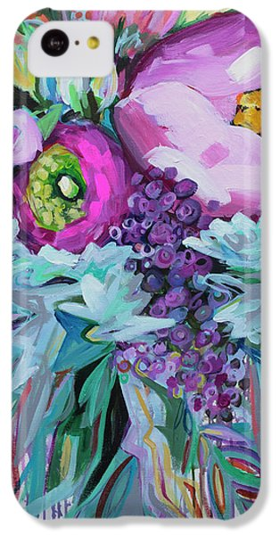 Floral iPhone 5c Case - Blessings Come From Raindrops by Kristin Whitney
