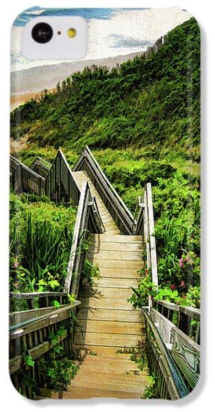 Landscapes iPhone 5c Case - Block Island by Lourry Legarde