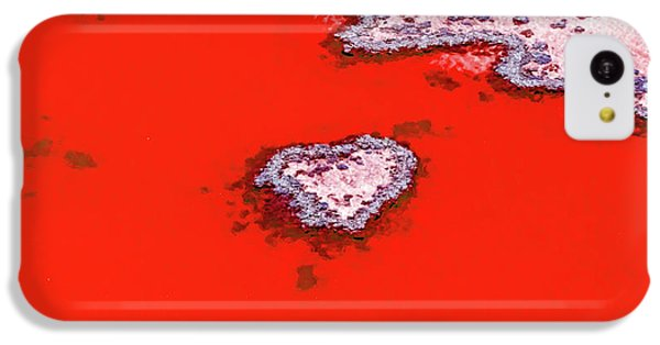 Helicopter iPhone 5c Case - Blood Red Heart Reef by Az Jackson