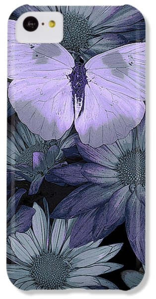 Fairy iPhone 5c Case - Blue Butterfly by JQ Licensing