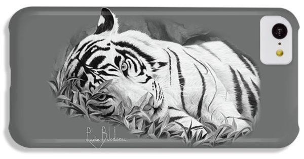 Blue Eyes - Black And White IPhone 5c Case