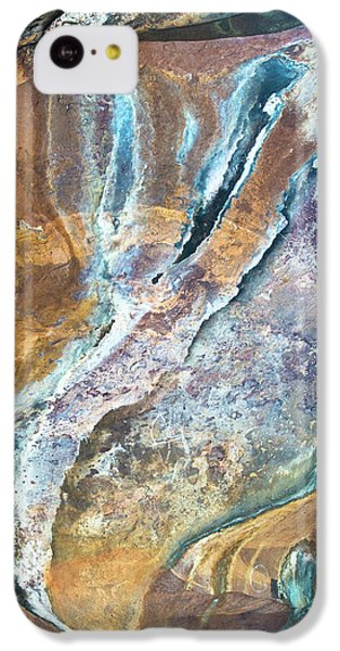 IPhone 5c Case featuring the photograph Blue Fantasy, Bhimbetka, 2016 by Hitendra SINKAR