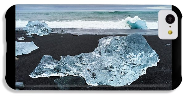 Cool iPhone 5c Case - Blue Ice In Iceland Jokulsarlon by Matthias Hauser