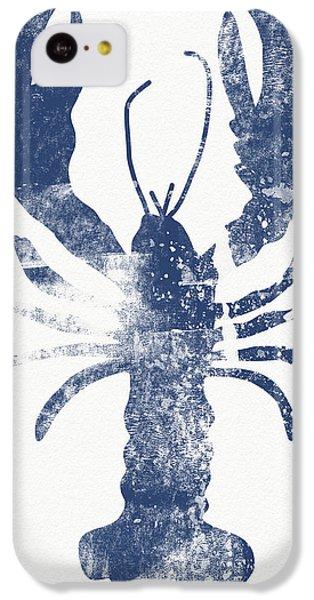 Beach iPhone 5c Case - Blue Lobster- Art By Linda Woods by Linda Woods