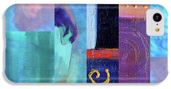 IPhone 5c Case featuring the digital art Blue Love by Nancy Merkle