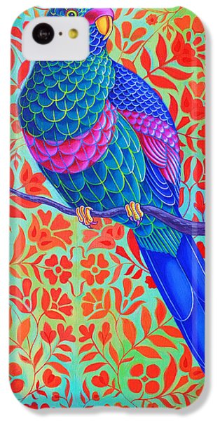 Blue Parrot IPhone 5c Case by Jane Tattersfield