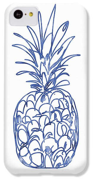 Blue Pineapple- Art By Linda Woods IPhone 5c Case