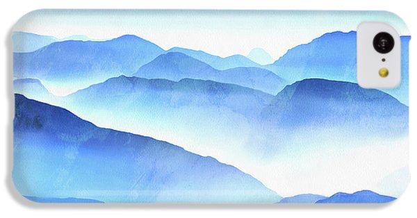 Blue iPhone 5c Case - Blue Ridge Mountains by Edward Fielding