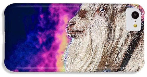Blue The Goat In Fog IPhone 5c Case