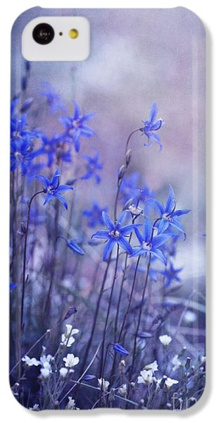 Portraits iPhone 5c Case - Bluebell Heaven by Priska Wettstein