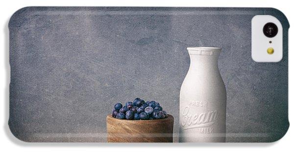 Fruit Bowl iPhone 5c Case - Blueberries And Cream by Tom Mc Nemar