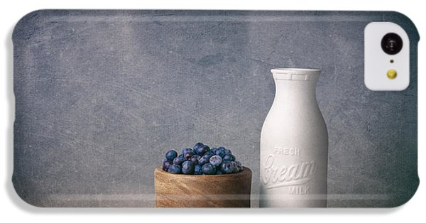 Blueberries And Cream IPhone 5c Case by Tom Mc Nemar
