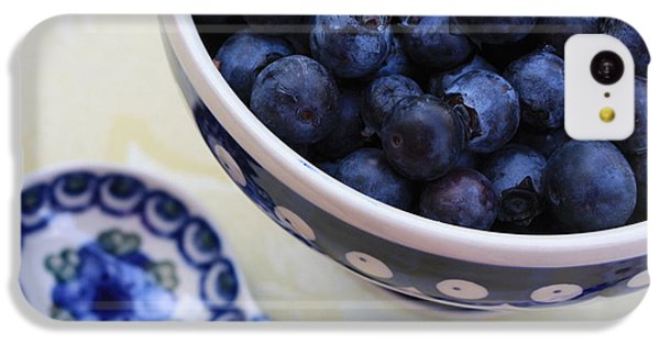 Blueberries And Spoon  IPhone 5c Case
