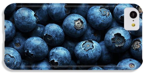 Blueberries Background Close-up IPhone 5c Case
