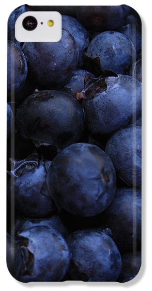 Blueberries Close-up - Vertical IPhone 5c Case