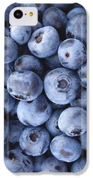 Blueberries Foodie Phone Case IPhone 5c Case by Edward Fielding