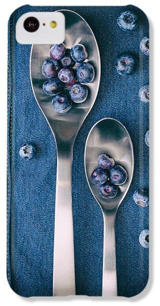 Blueberries On Denim I IPhone 5c Case