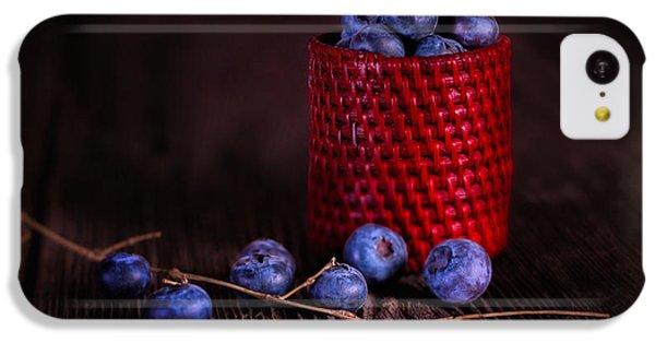 Fruit Bowl iPhone 5c Case - Blueberry Delight by Tom Mc Nemar