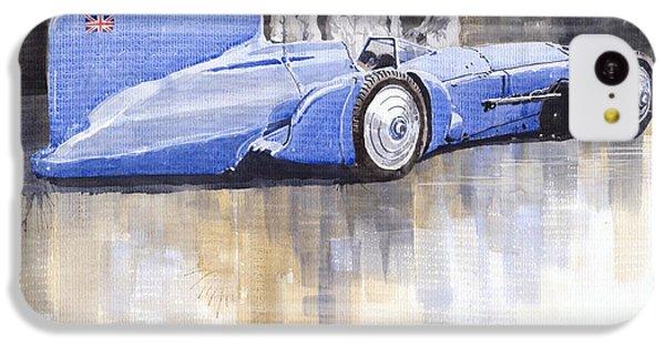 Bluebird iPhone 5c Case - Bluebird World Land Speed Record Car 1931 by Yuriy Shevchuk