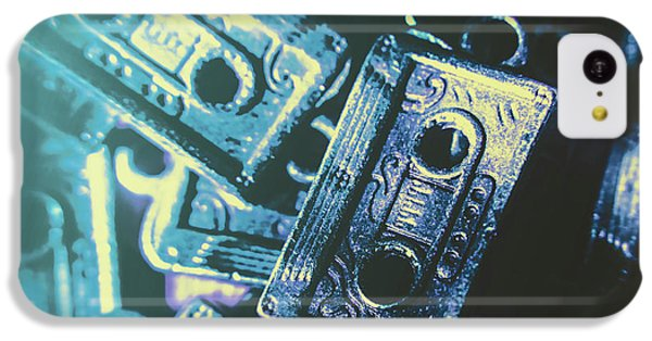 Sound iPhone 5c Case - Blues On Cassette by Jorgo Photography - Wall Art Gallery