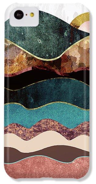 Landscapes iPhone 5c Case - Blush Moon by Katherine Smit