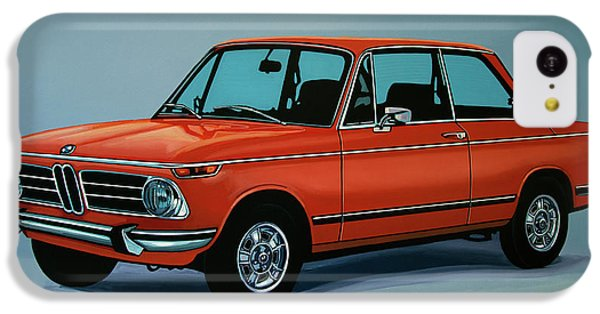 Bmw 2002 1968 Painting IPhone 5c Case by Paul Meijering