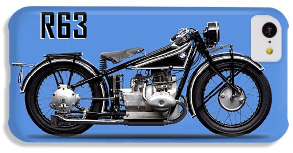 Transportation iPhone 5c Case - The R63 Motorcycle by Mark Rogan