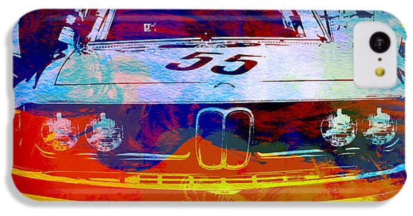 Car iPhone 5c Case - Bmw Racing by Naxart Studio